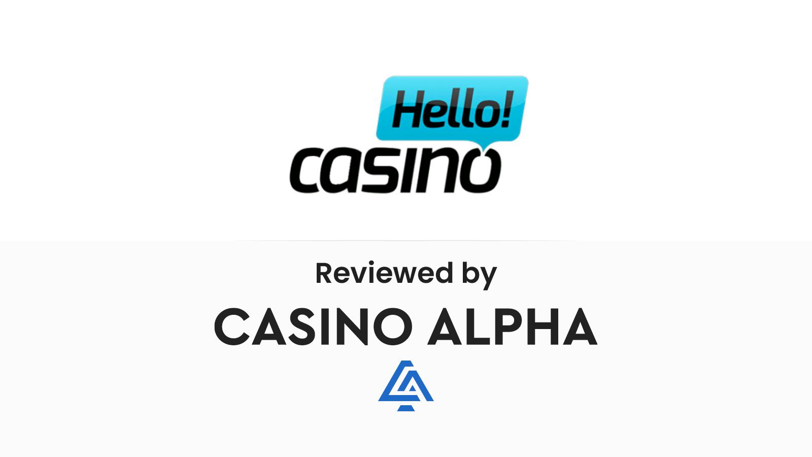 Hello Casino Review & Bonus codes