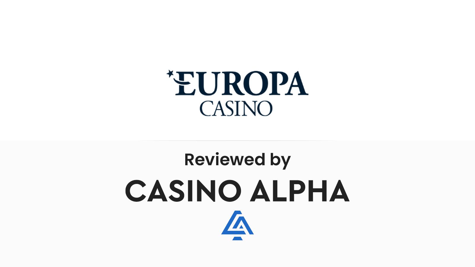 Europa Casino Review & Bonus codes
