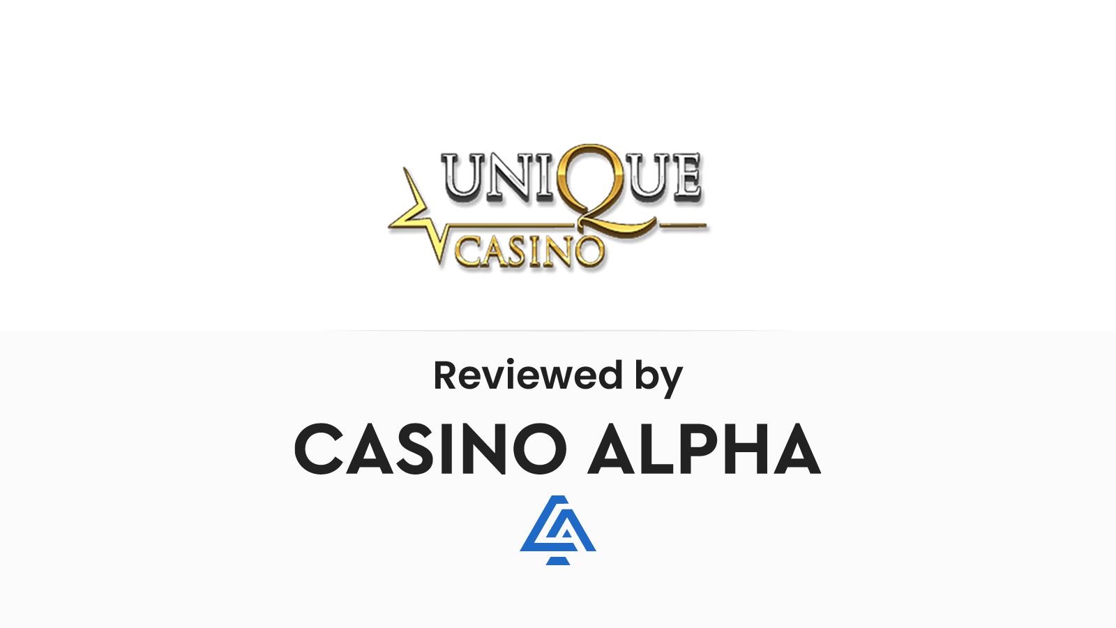 Unique Casino Review & Offers