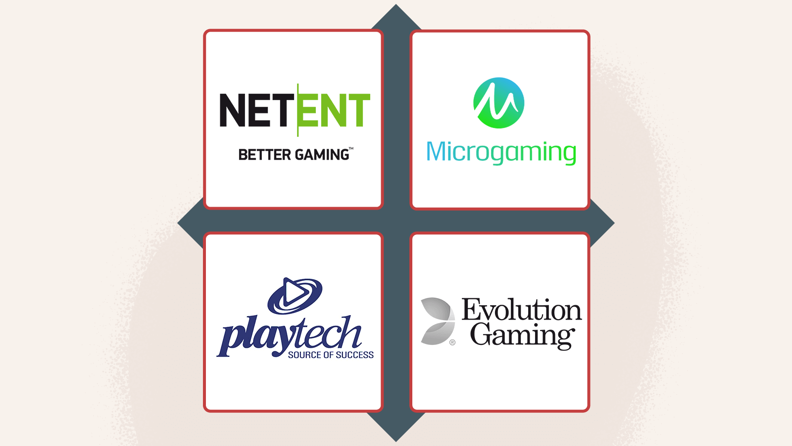 Casino software providers & range of games