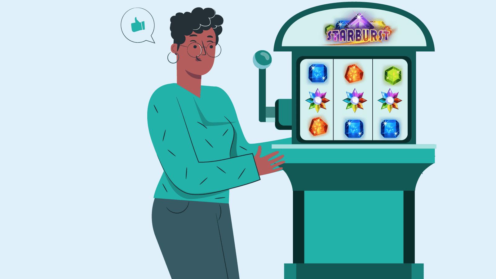Get familiar with Starburst slot machine