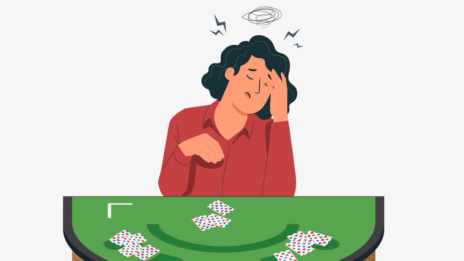 How to identify gambling addiction