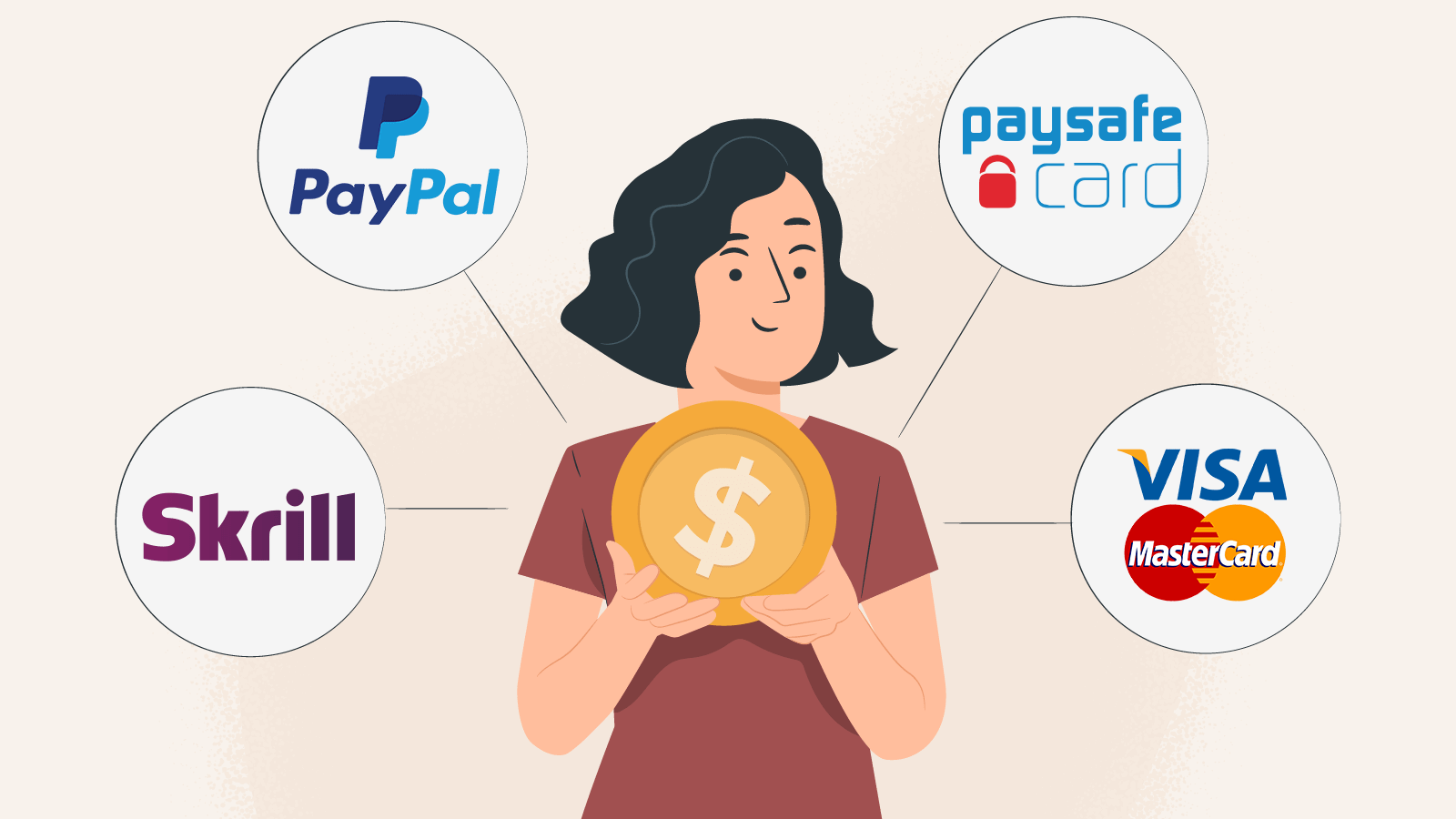 Know what payment methods you can use