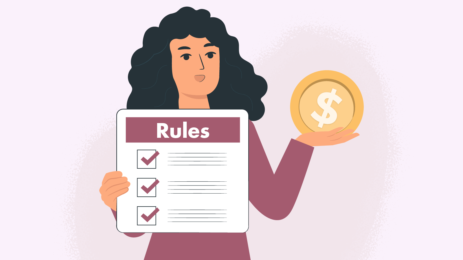 The rules of deposits & withdraw