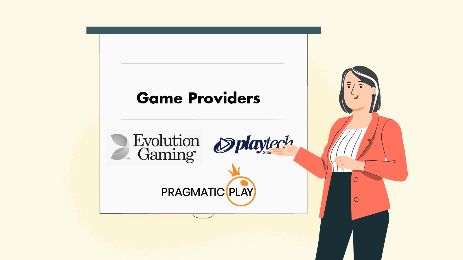 What live game providers we've seen