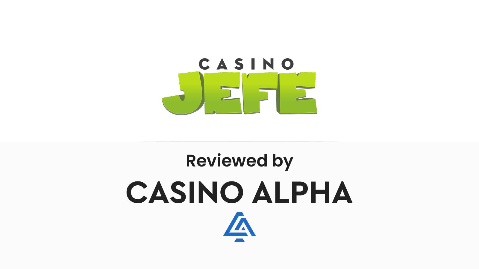 Casino Jefe Review & Bonuses
