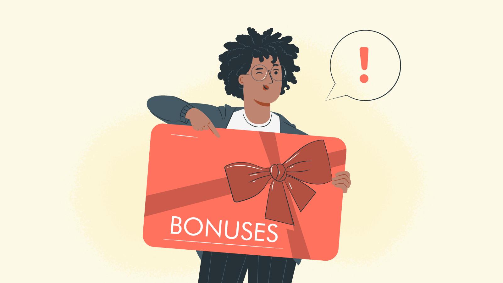 Look at the bonus type