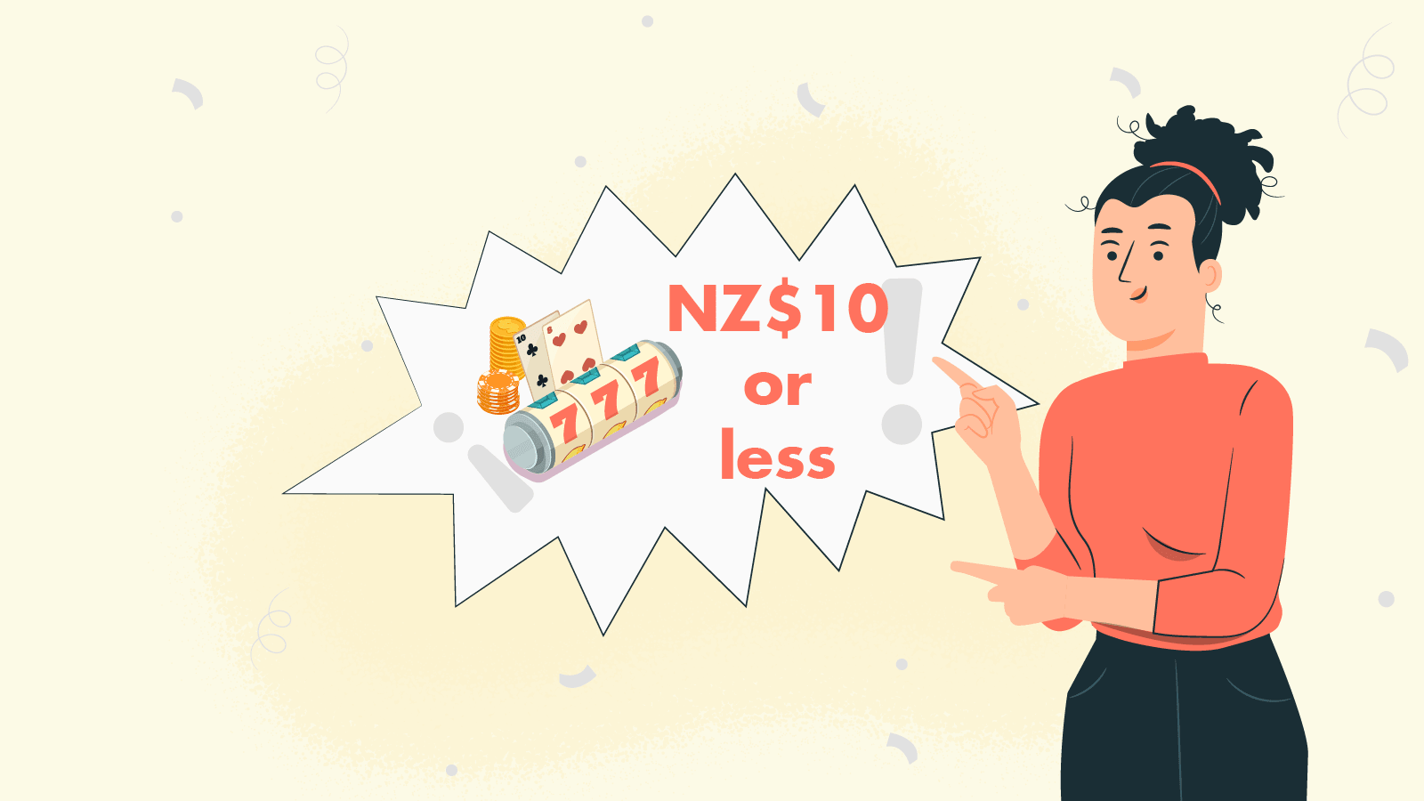 NZ Gambling with NZ$10 or less