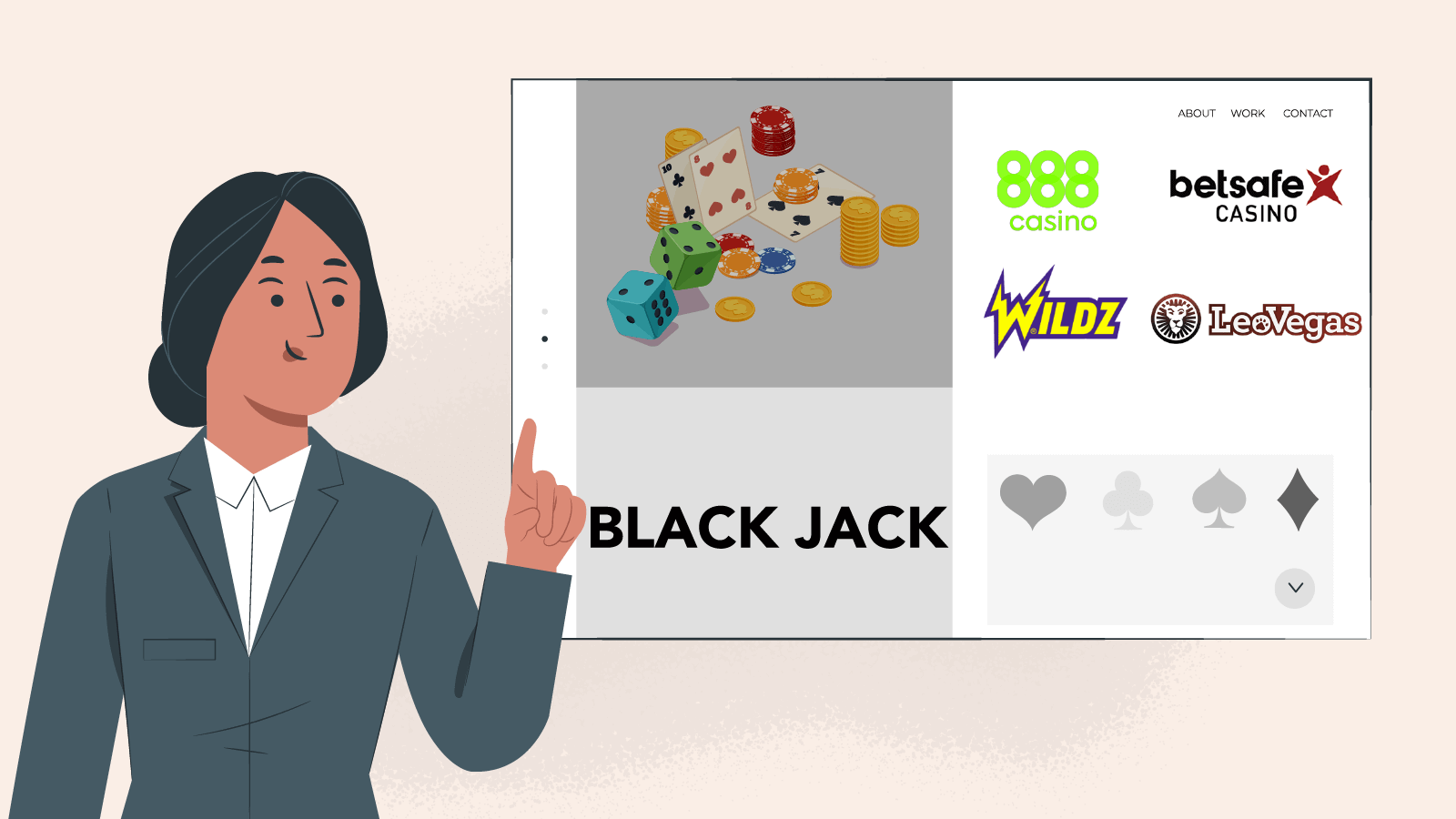 What are the Best Blackjack Casino sites
