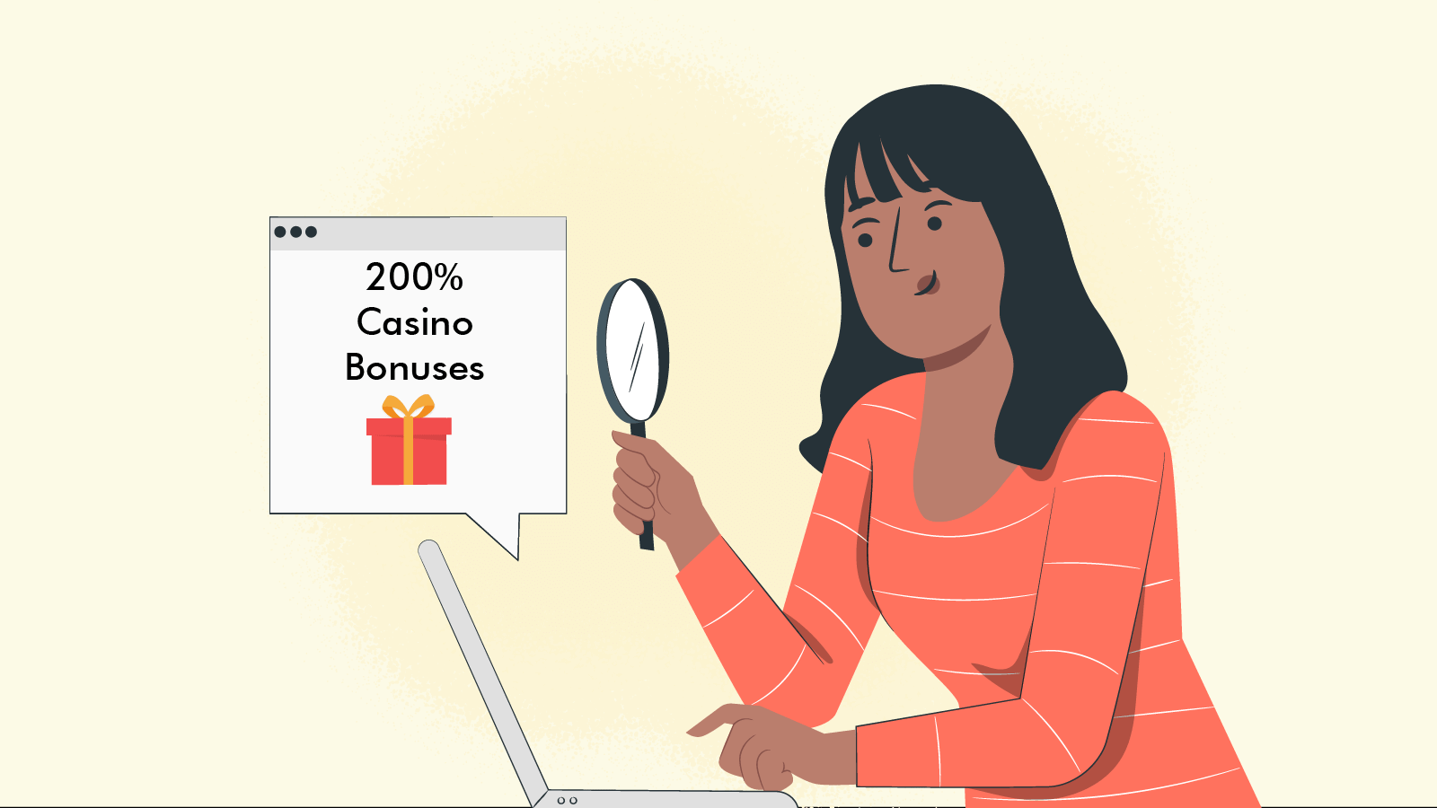 Where can you find 200% casino bonuses