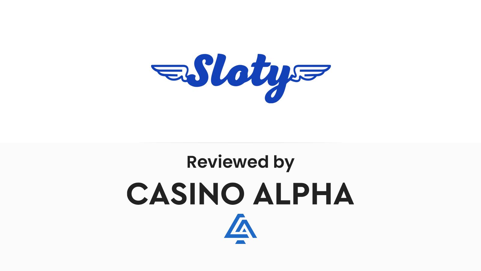 Sloty Review & Bonuses