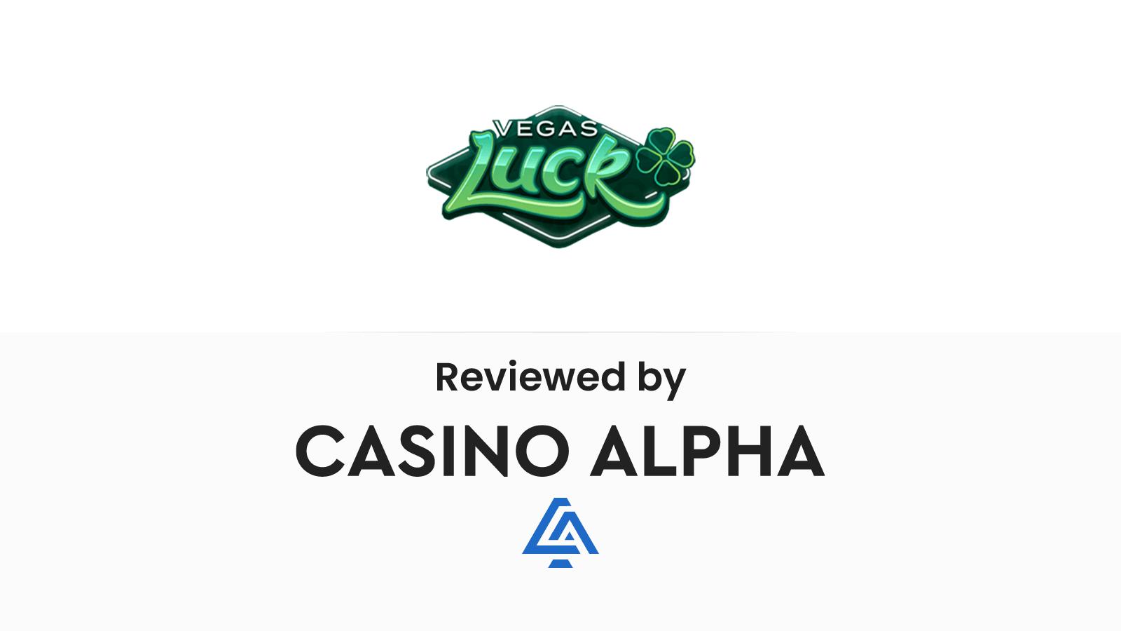 Vegas Luck Review & Promo codes