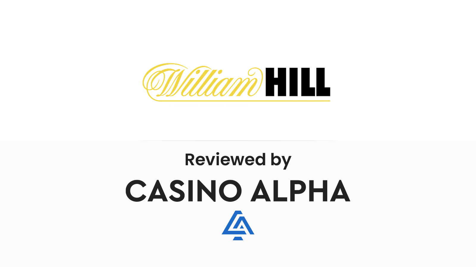 William Hill Review & Promo codes