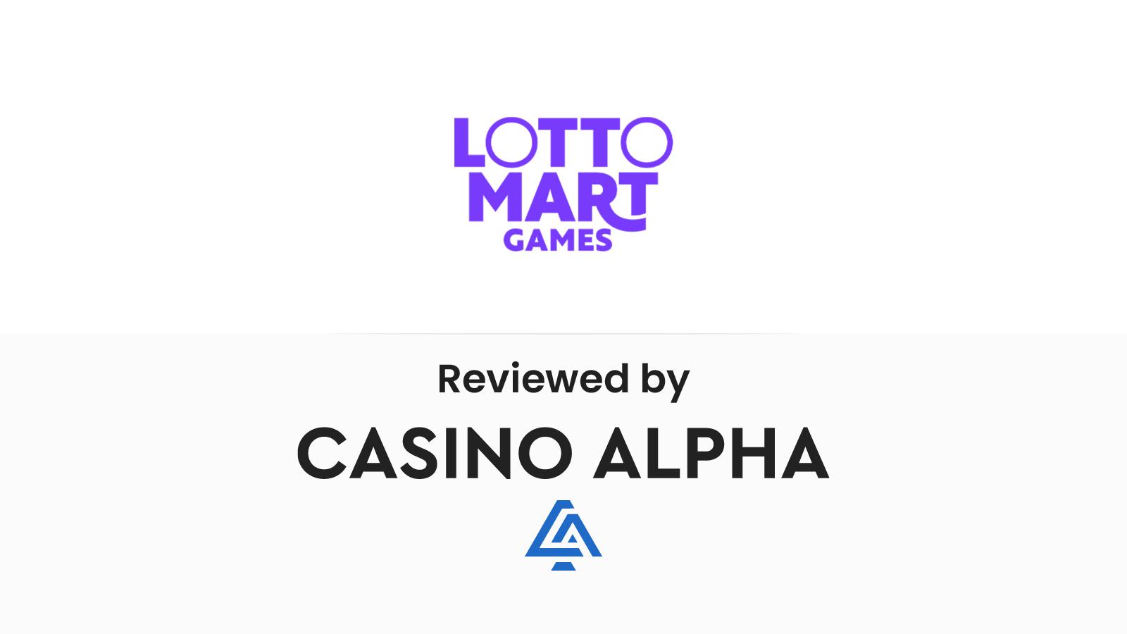 Lottomart Review & Bonuses