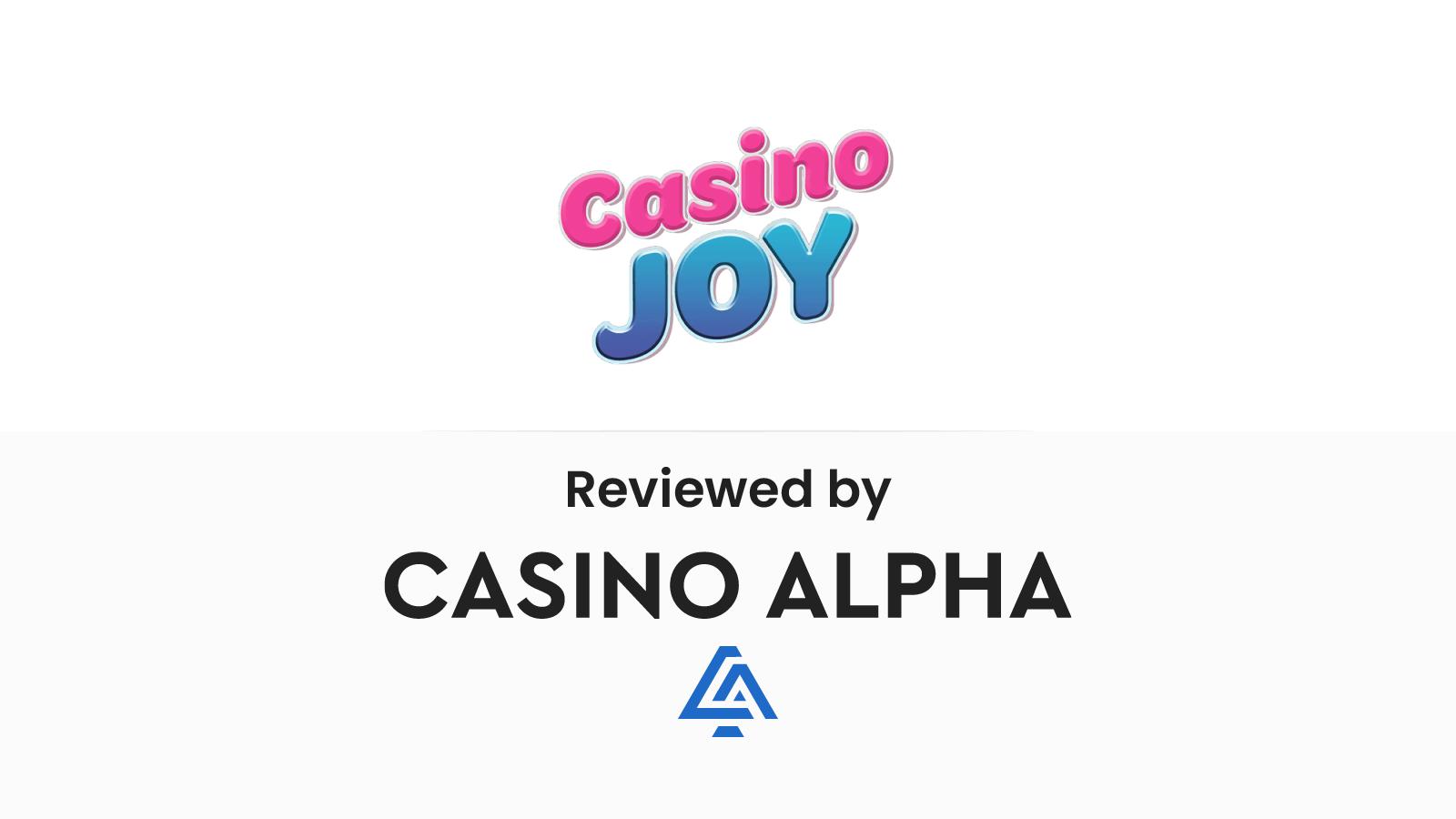 Casino Joy Review & Bonus codes