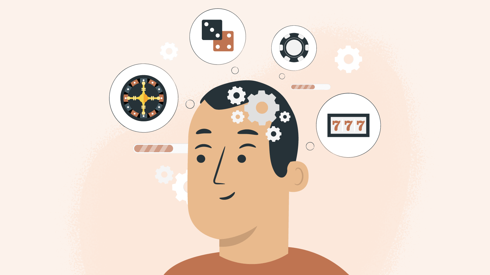 Gambling addiction and the brain