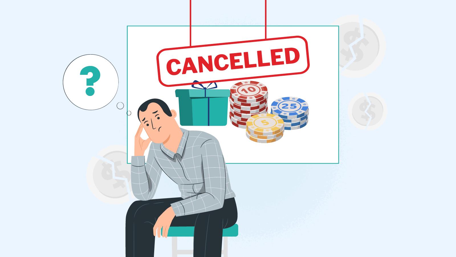 How to avoid having your bonus cancelled