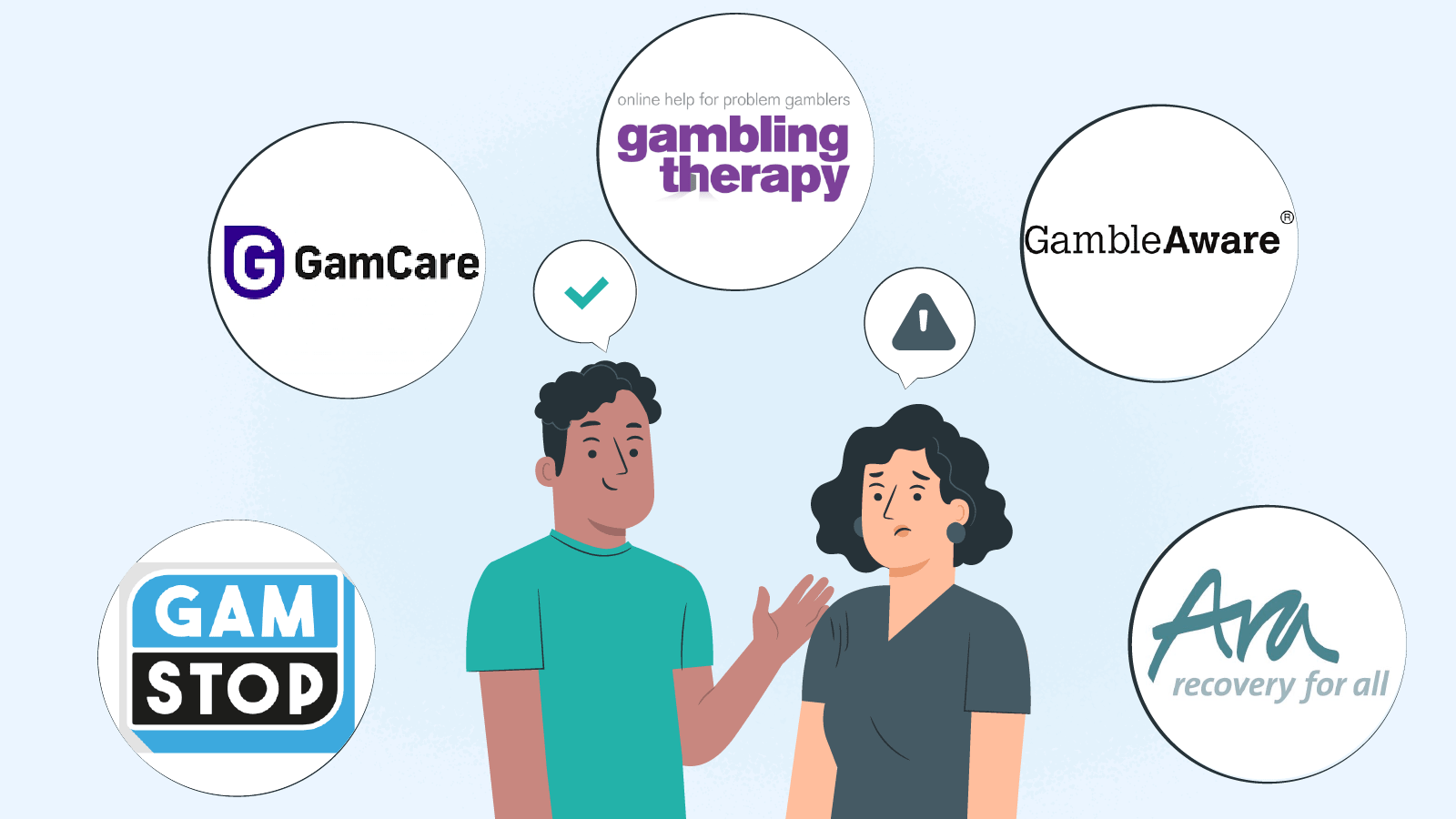 Organisations that help you with gambling addiction
