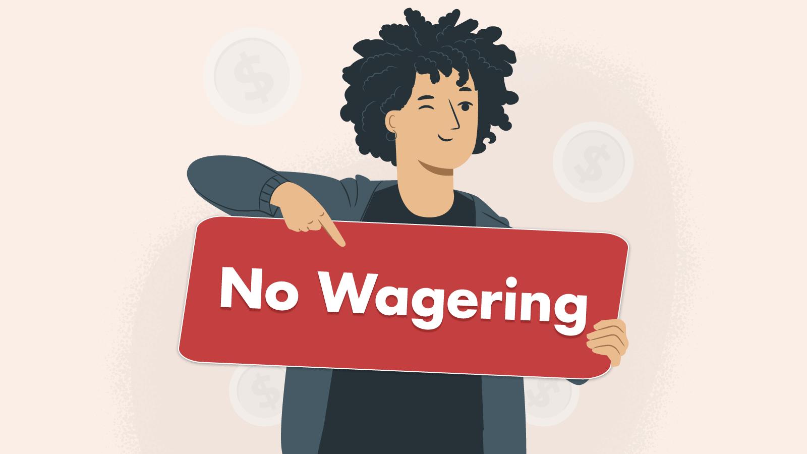 Step 4 Bonus step - No wagering bonuses trial