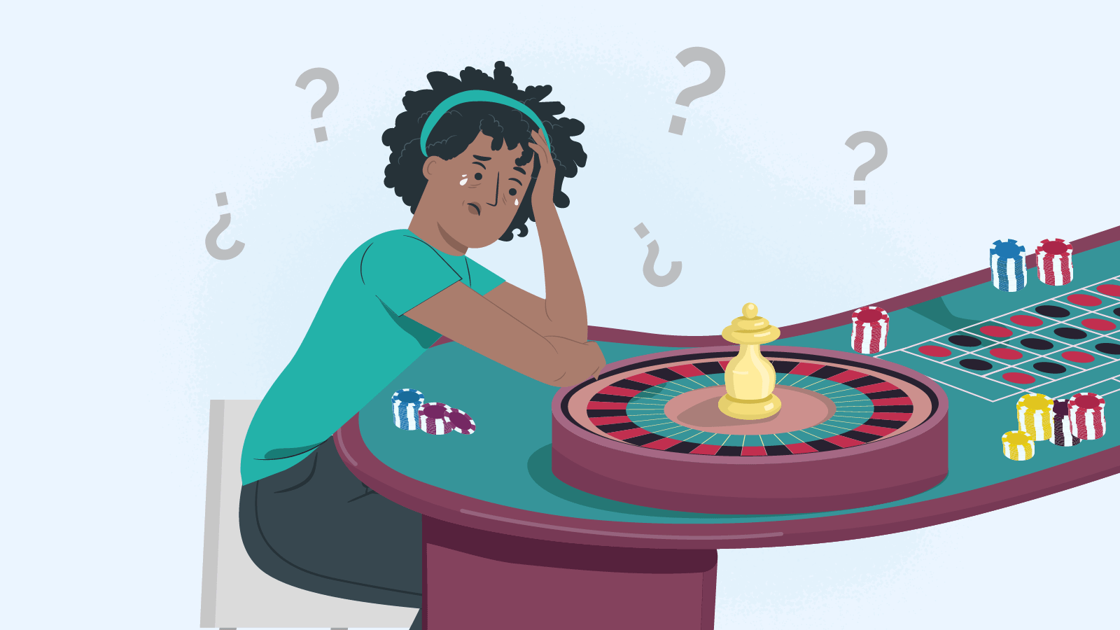 What gambling addiction is and how to recognise it
