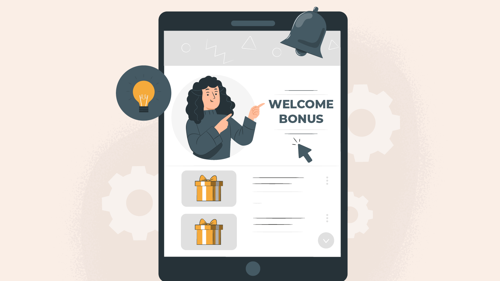What is a welcome bonus