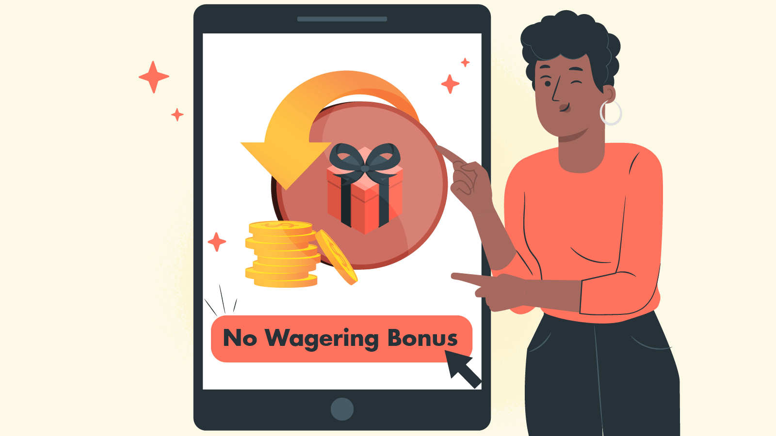 Why do casinos offer no wagering promotions