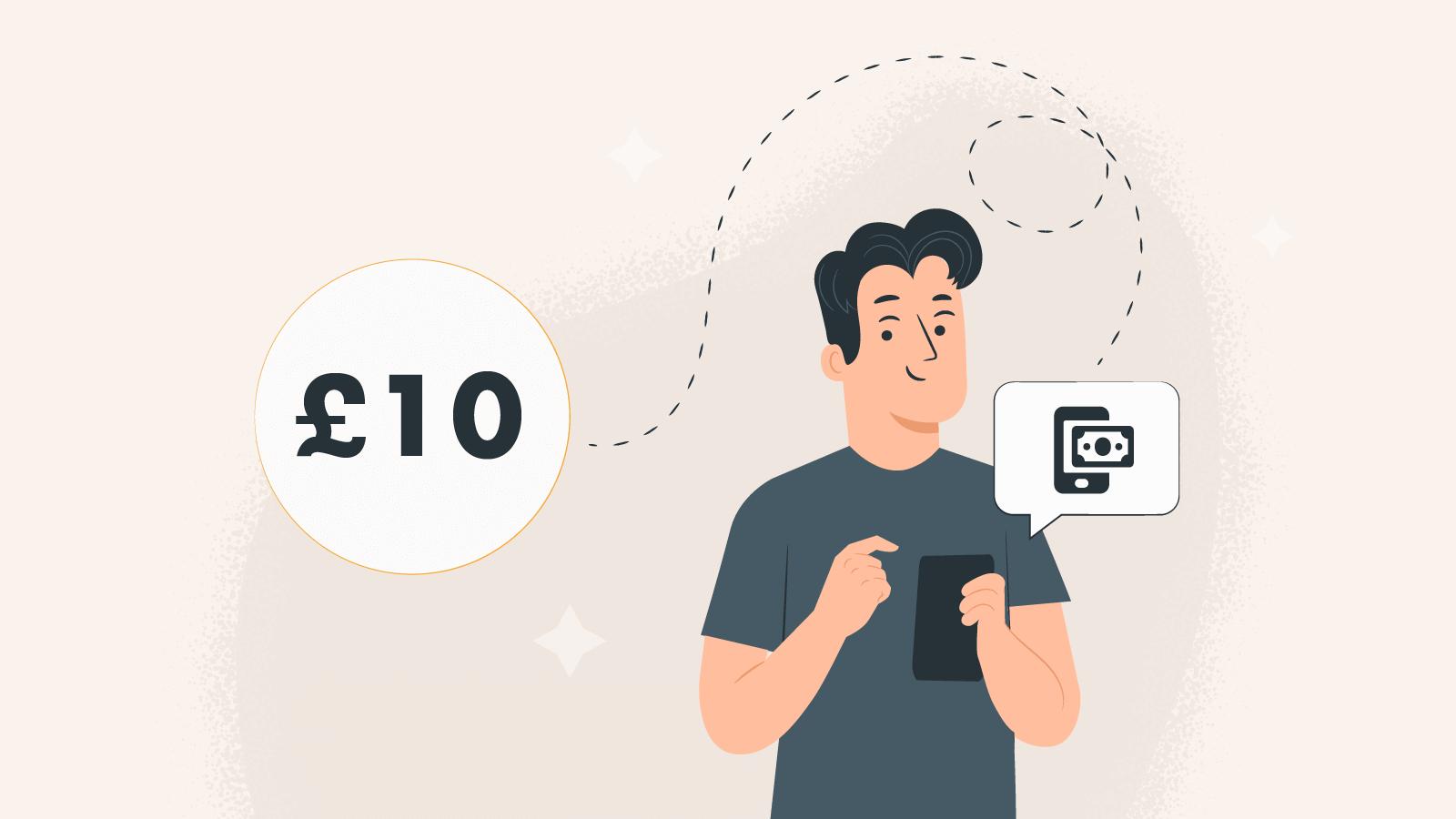 £10 minimum deposit deals