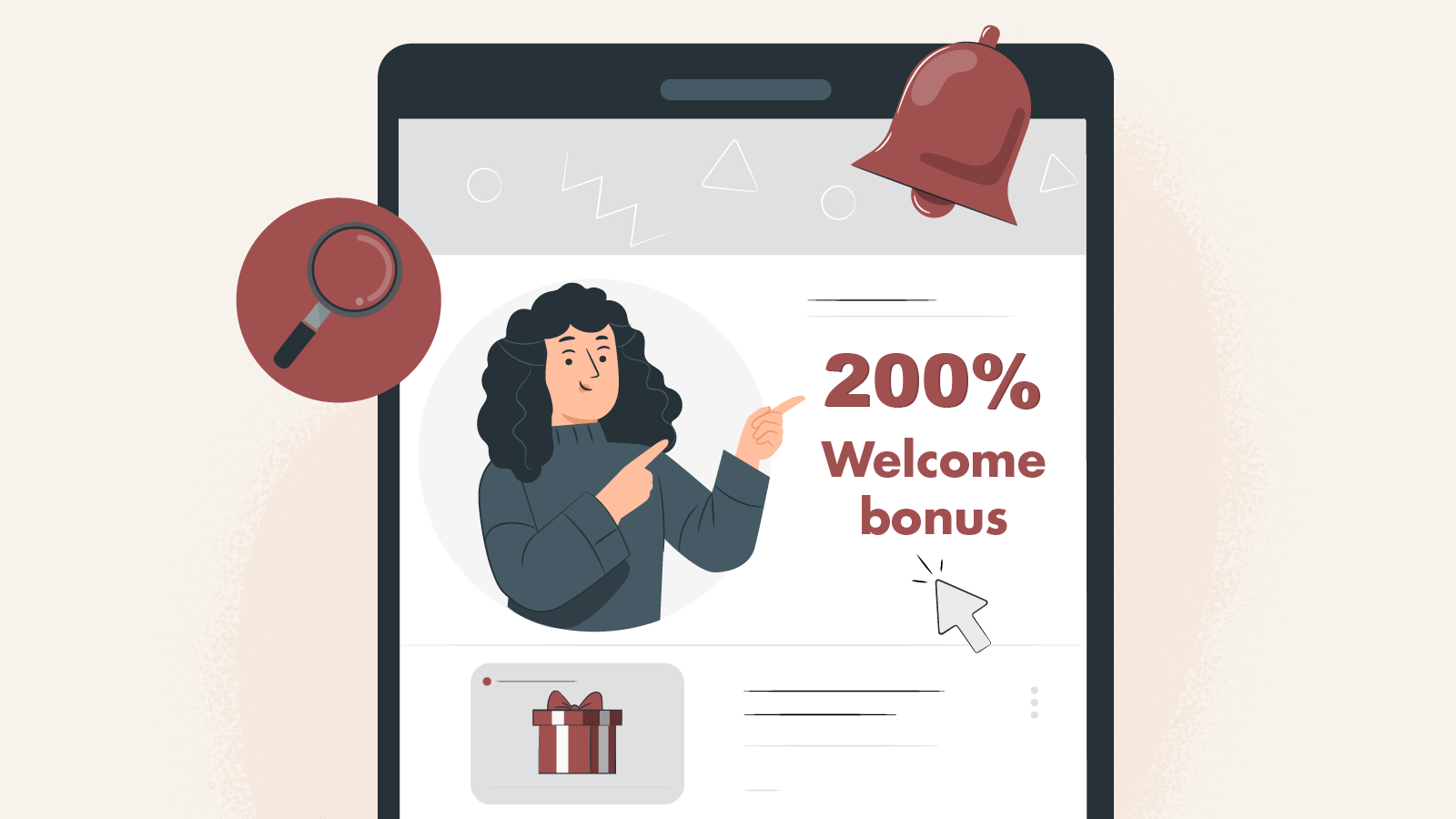 Choose your 200% welcome bonus Uk