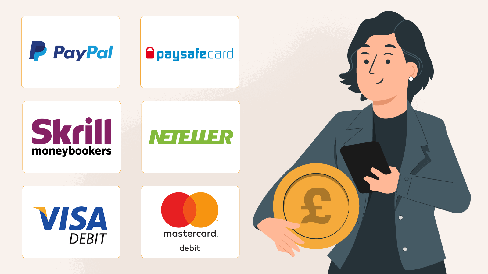 Choose your payments