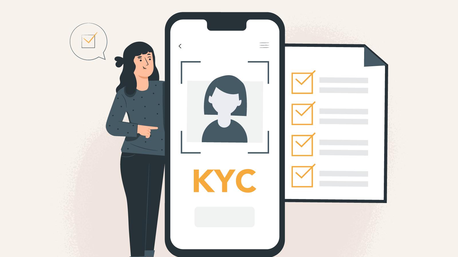 Complete the KYC procedure