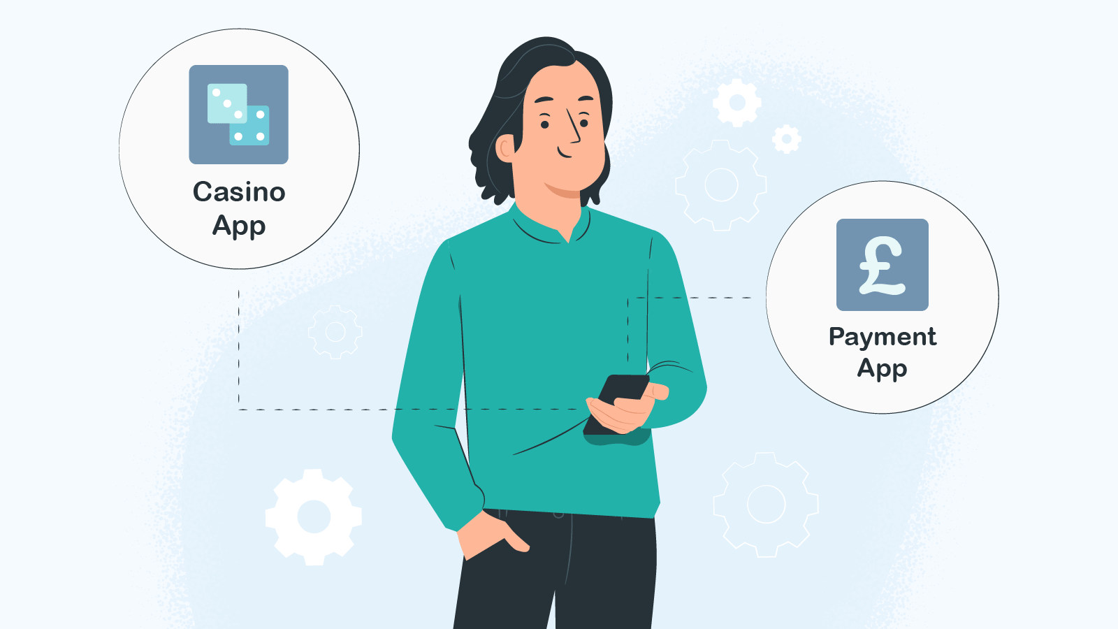 Couple your casino app with payment apps
