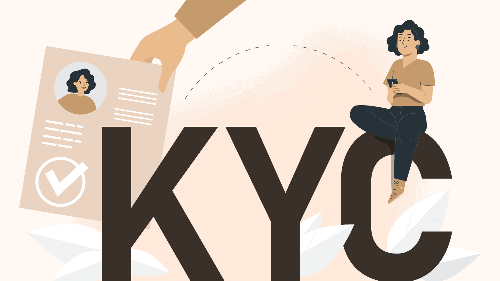 Create an account and complete the KYC