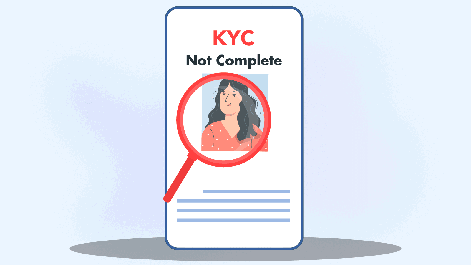 KYC is not complete