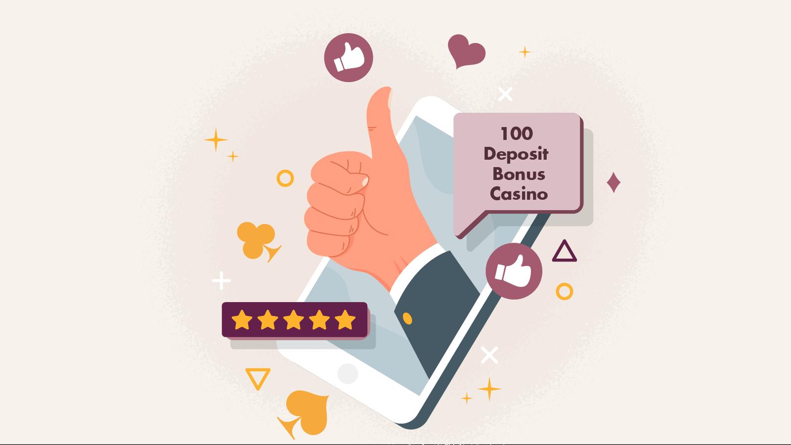 Our top 100 deposit bonus casino