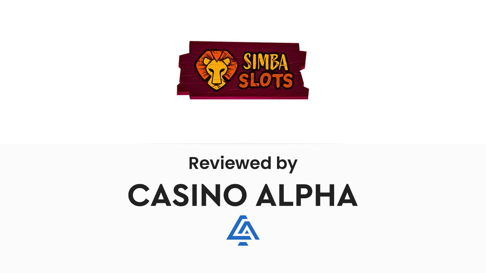 Simba Slots Review & Promo codes
