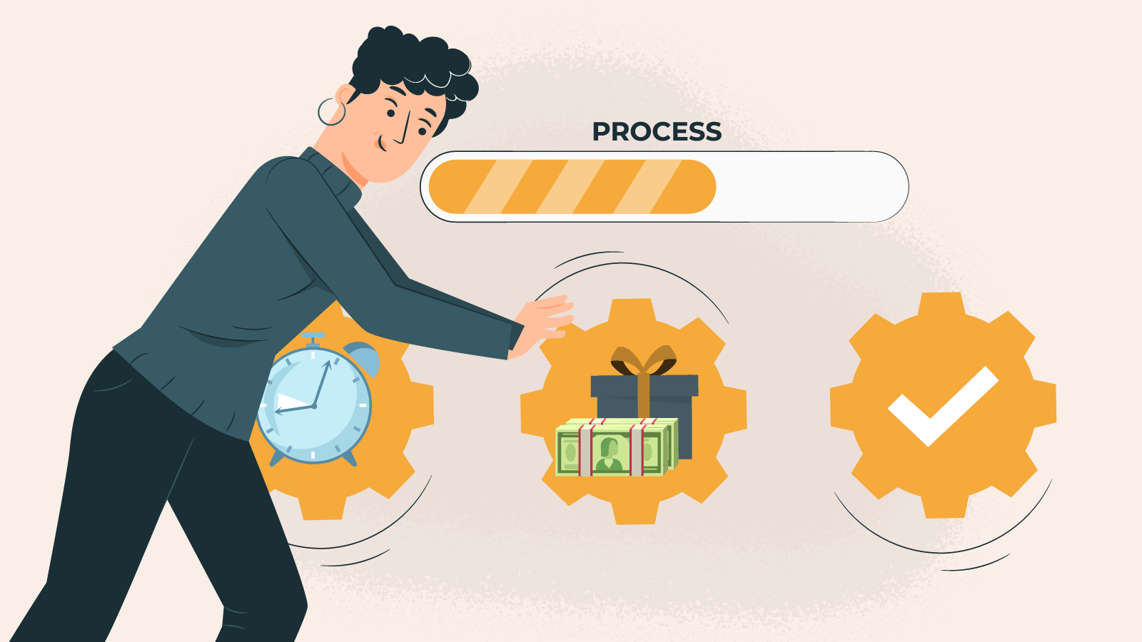 Step 2 Be ready for casino processing
