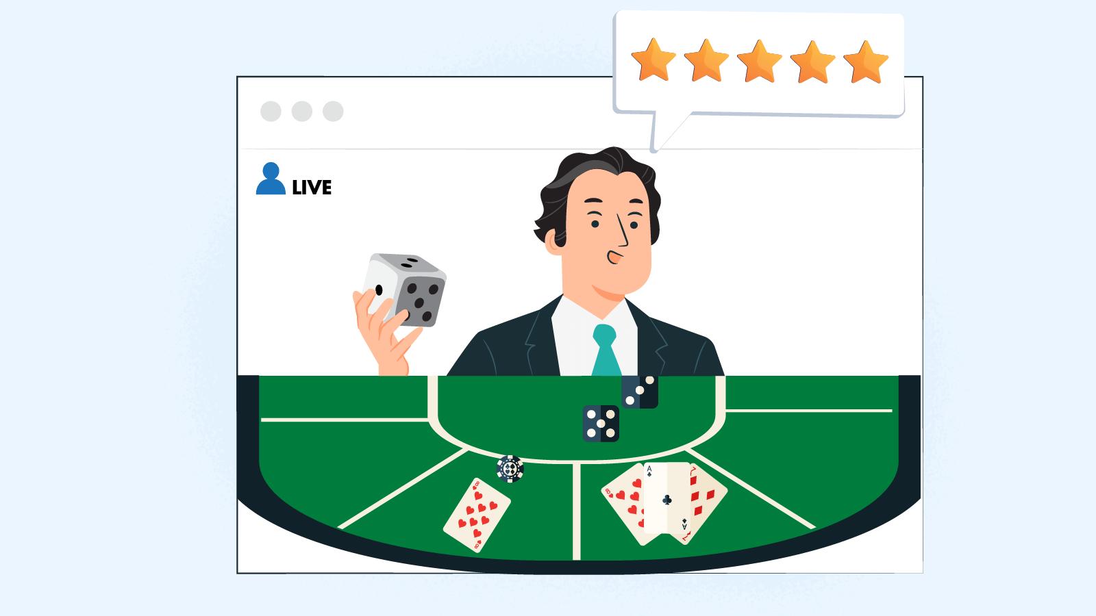 What's the Best Live Dealer Blackjack Casino