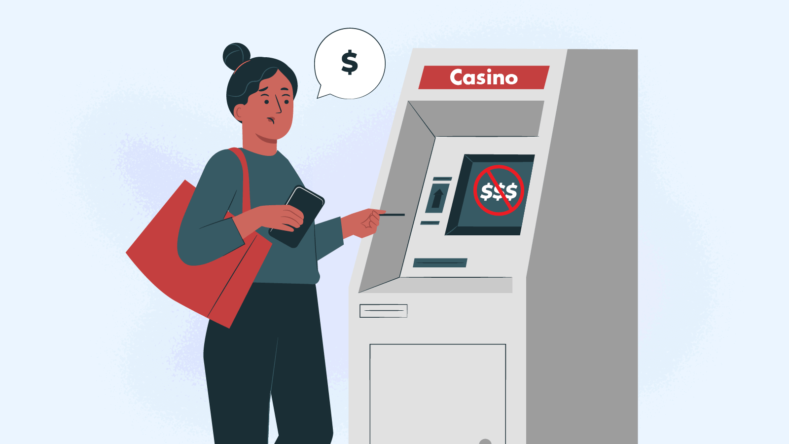 Why you cannot withdraw money from the casino