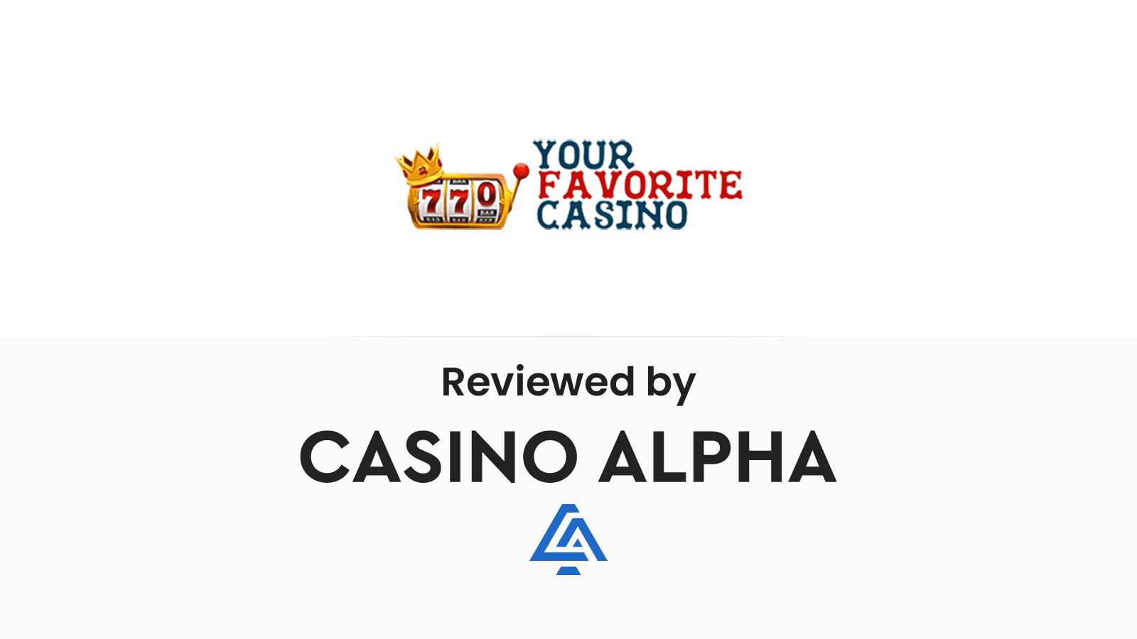 Your Favorite Casino Review & Offers → Complete List