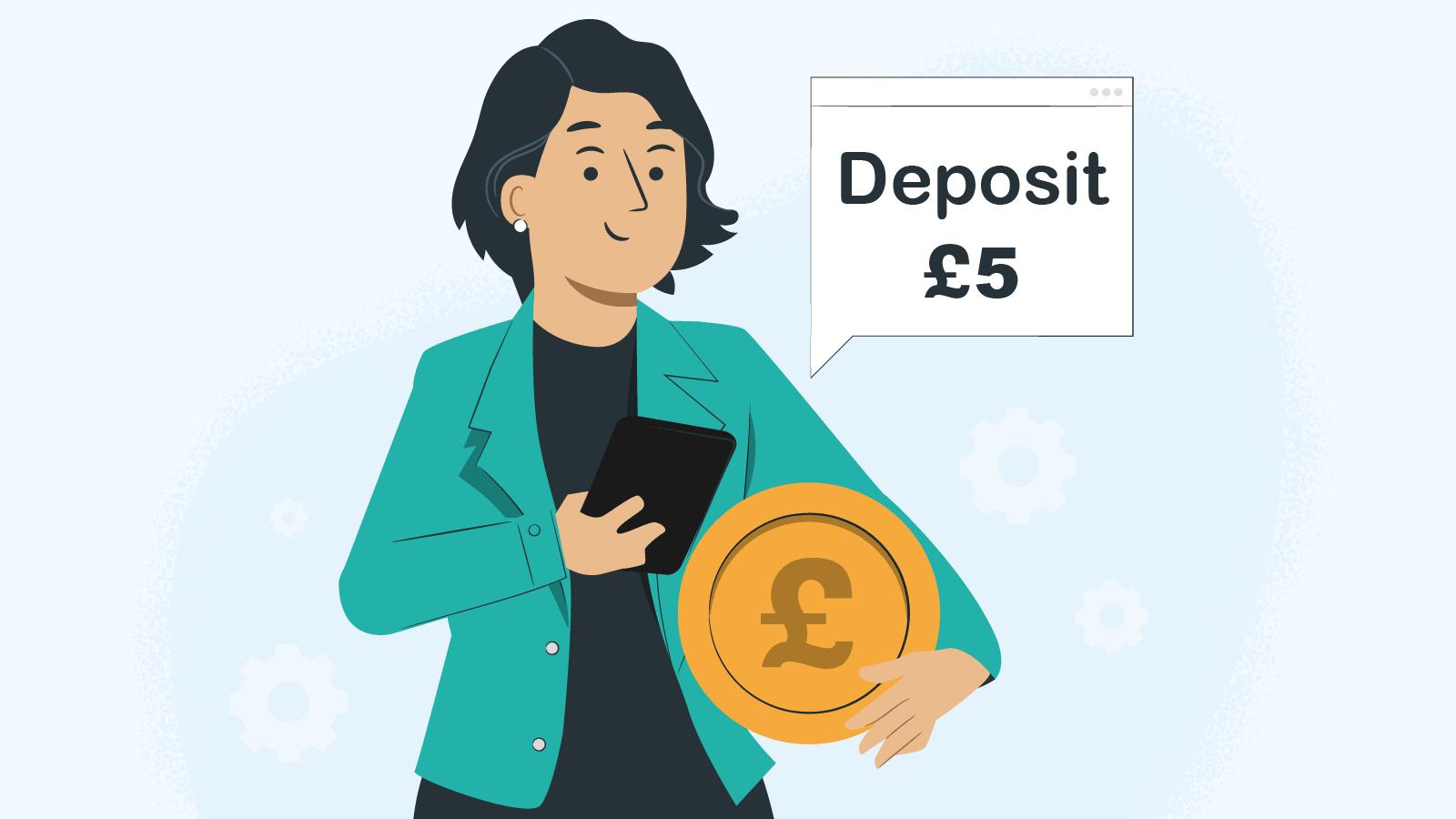 The Updated £5 Deposit Casino List [2021]